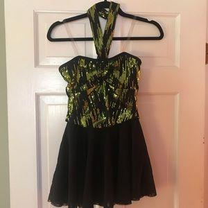 Women's dance sequin dance costume, small NWOT